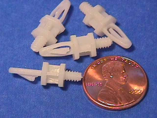 STANDOFF SCREW MB PLASTIC 6