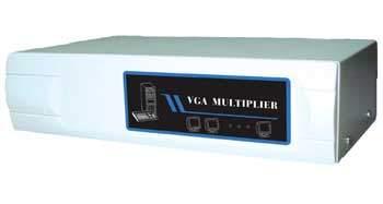 SVGA AMP SPLITTER TO 4 Way Powered 400MHZ
