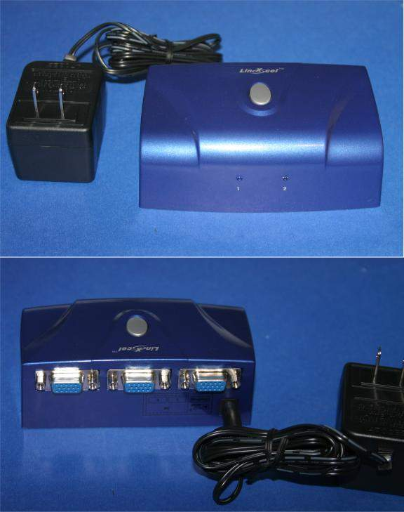 SVGA Switch HD15 AB Electronic High-Resolution