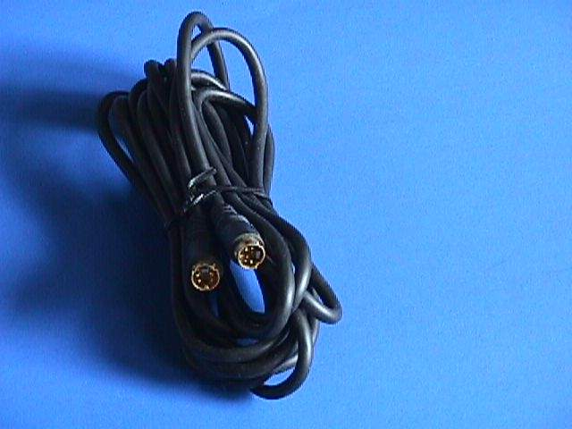 SVIDEO CABLE 4PIN MINI DIN Male to Male 12FT
