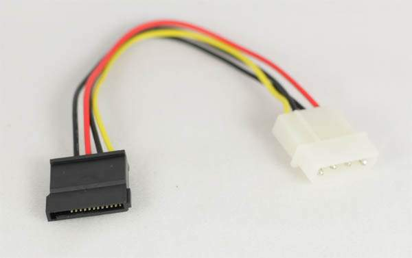 Sata Power Cable 6-Inch Assembled Connector
