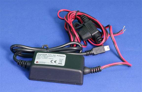 Step Down Transformer 12VDC to 5VDC 750 mA MiniB