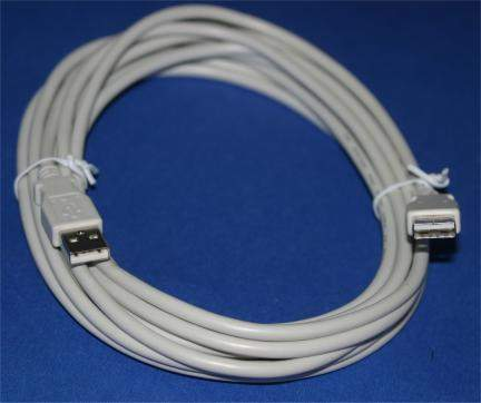 USB 2.0 CABLE TYPE A-Male to TYPE A-Male CABLE 10FT