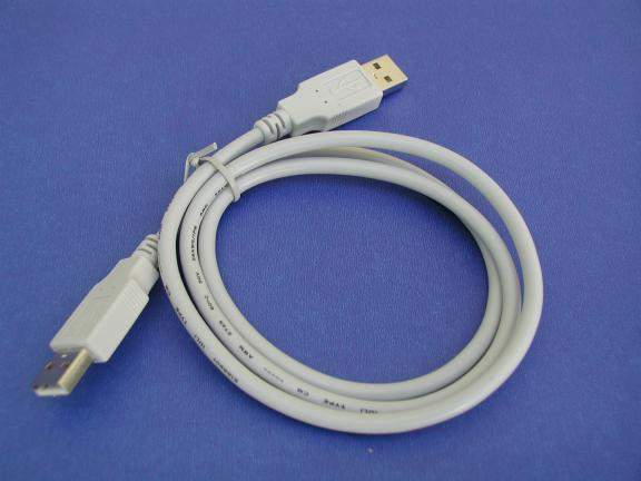 USB 2.0 CABLE TYPE A-Male to TYPE A-Male CABLE 3FT