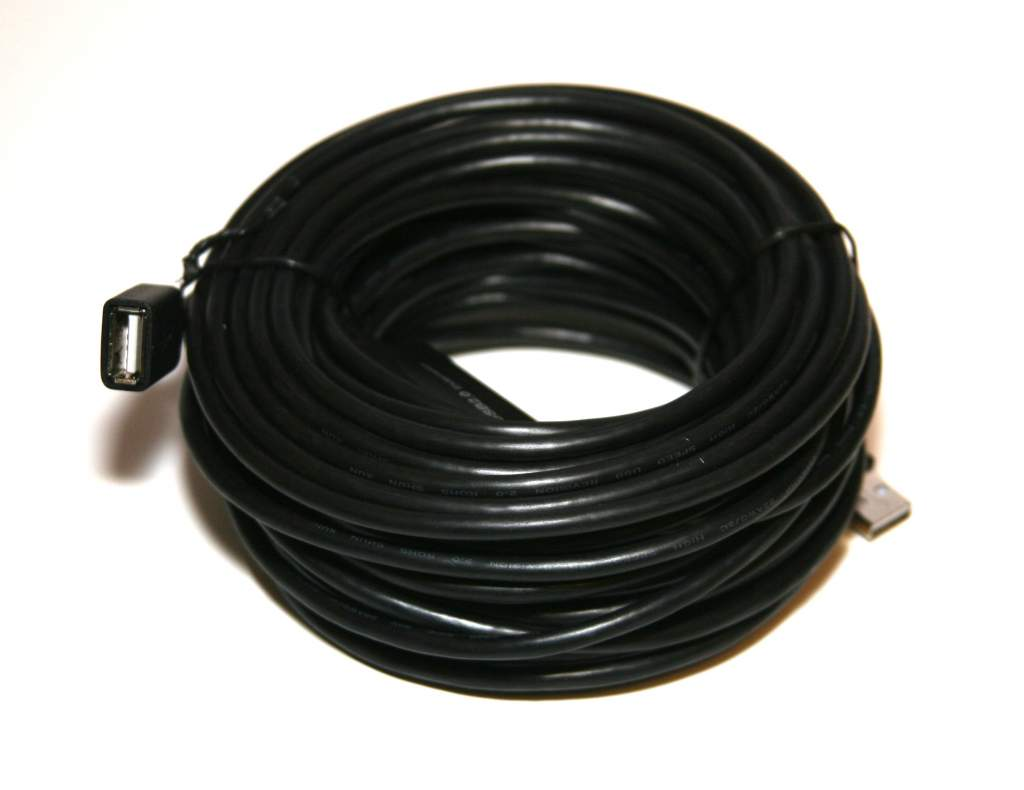 USB 2.0 COMPUTER Cable Extension A Male to Female 50FT 15Meter