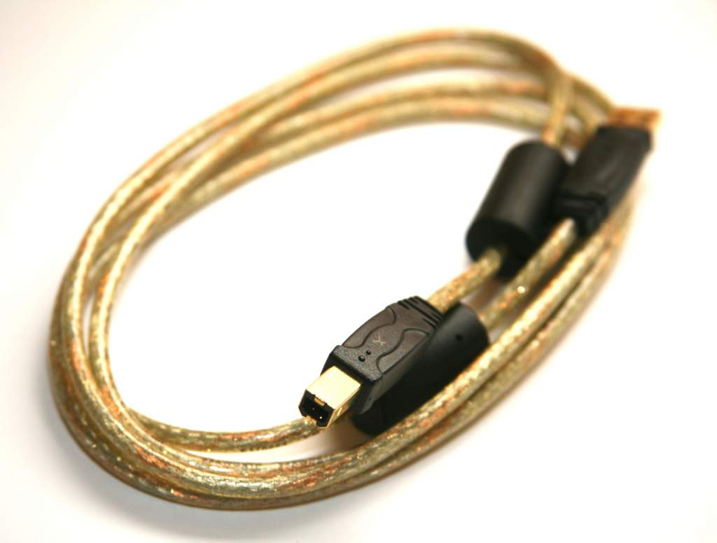 USB 2.0 Cable A-B Gold 6FT