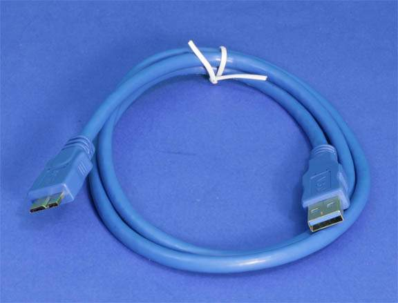USB 3.0 SuperSpeed Micro-B Cable 3FT