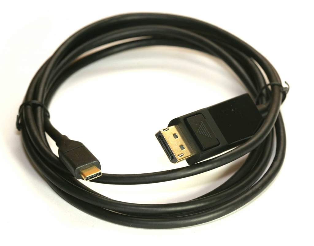USB 3.1 Type-C to DisplayPort  Cable 6Ft
