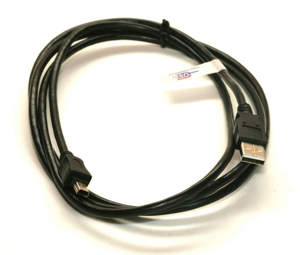 USB-A to Mini-B 5-Wire Camera Cable 6FT