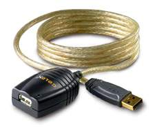 USB ACTIVE EXTENSION CABLE PREMIUM GOLD 16FT 5M
