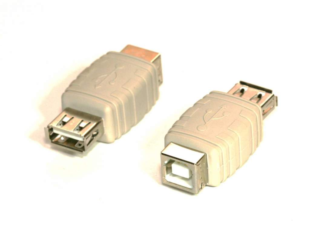 USB GENDER CHANGER TYPE A Female to TYPE B Female ADAPTER