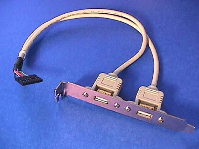 USB PORT DUAL to MAINBOARD PORT 1x8