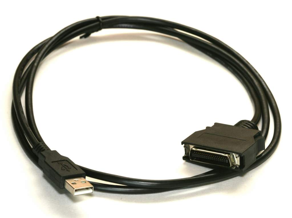 USB Printer IEEE-1284 Cable 5FT with C-Connector HPCN36
