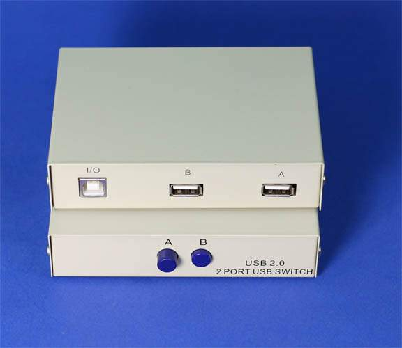 USB Switch Manual AB 1B-2A 2A-1B