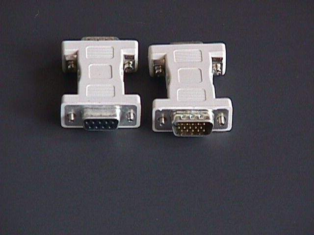 VGA-EGA MONITOR ADAPTER MULTISYNC DB9-F TO CARD HD15-M