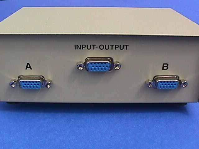 VGA HD15 AB Switch