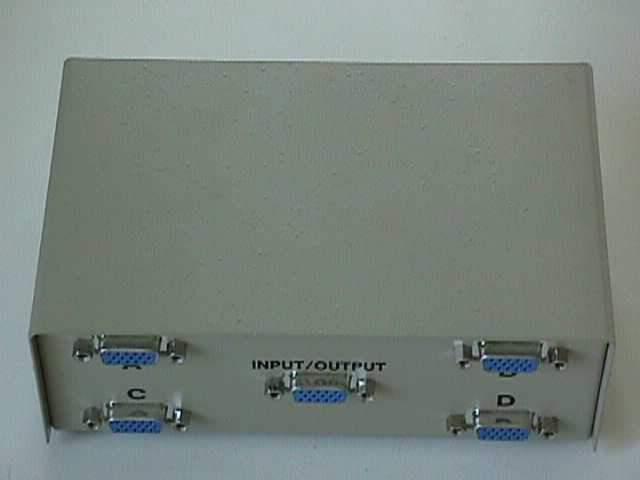VGA HD15 ABCD SWITCH Box