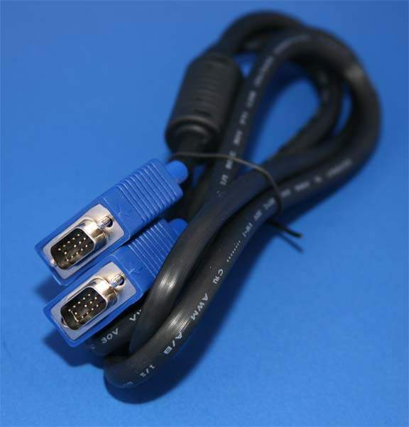 VGA Monitor Cable Premium 6ft Male-Male
