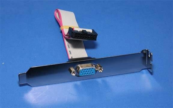VGA PORT HD15F PORT to IDC16