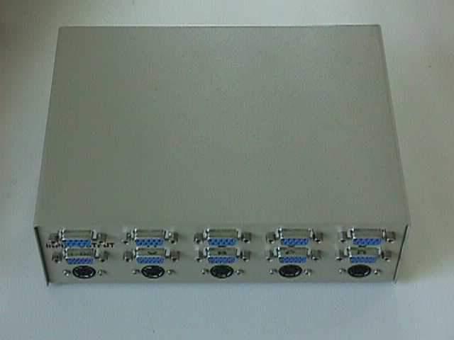 VGA PS2-Keyboard DB9-Mouse ABCD Manual Switch
